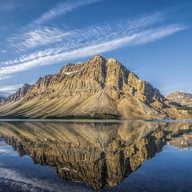 Yves Gagnon - Bow Lake Sunrise Banff National Park Alberta  Canada