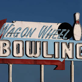 Art Block Collections - Bowling Sign