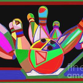 Navin Joshi - Bowling Sports fans decoration acrylic fineart by NavinJoshi at FineArtAmerica.com  DOWN LOAD  jpg f