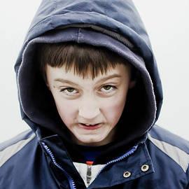 Tom Gowanlock - Boy in a hoodie