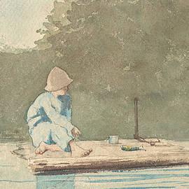Boy on a Raft - Winslow Homer