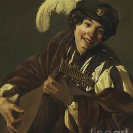 Boy playing the Lute - Hendrick Ter Brugghen