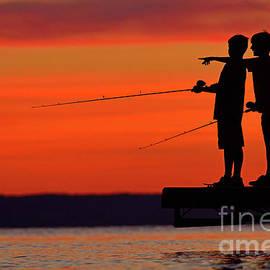 Joshua McCullough - Boys Fishing