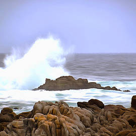 Barbara Snyder - Breaker Wave Monterey California