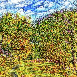Joel Bruce Wallach - Breezy Autumn Pathway