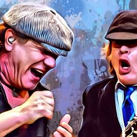 Scott Wallace - Brian Johnson with Angus Young