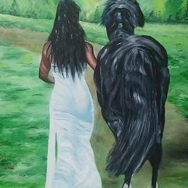 I F Abbie Shores 1stAngel Arts - Bride and Colt