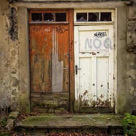 Bride And Groom Doors