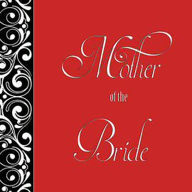 JH Designs - Brides Mother Red Deco