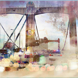 Susan Stone - Bridge Abstract