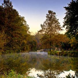 Roger Passman - Bridge and Tree Sunrise