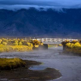 Joe Doherty - Bridge over Hot Creek on a cloudy day