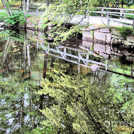 Elizabeth Dow - Bridge to Brookside Cemetery