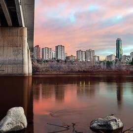 Carol Cottrell - Bridge to the City - Edmonton Alberta