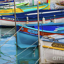Bright Boats in Nice, France