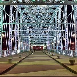 Frozen in Time Fine Art Photography - Bright Bridge Lights