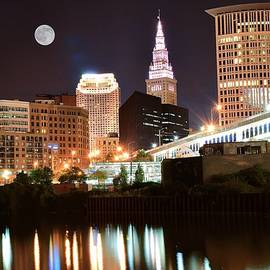 Frozen in Time Fine Art Photography - Bright Cleveland Lights