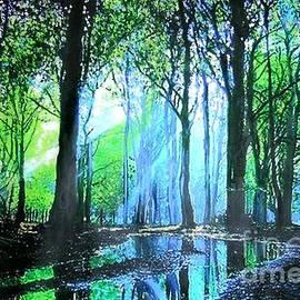Marie-Line Vasseur - Bright Light in Dark Wood