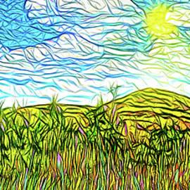Joel Bruce Wallach - Bright Sky Summer - Field In Boulder County Colorado