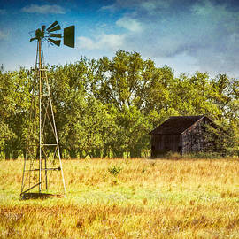 Anna Louise - Broken Windmill and Rustic Barn
