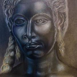 Drew - Bronze woman with Silver