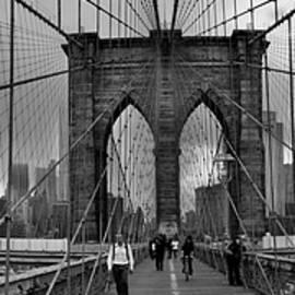 Dennis Ludlow - Brooklyn Bridge panorama