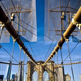 James Aiken - Brooklyn Bridge - To Manhattan