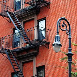 Carlos Alkmin - Brooklyn Heights Typical Facade - New York City