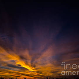 James Aiken - Brooklyn Sunrise Cloudscape