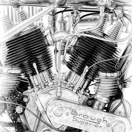 Brough Superior Engine - Tim Gainey
