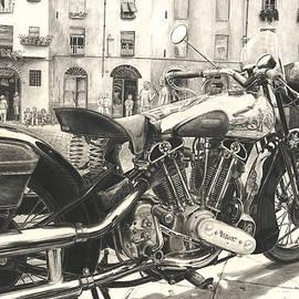 Norman Bean - Brough Superior SS 100