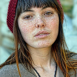 Jim Fitzpatrick - Brown Haired and Freckle Faced Natural Beauty II