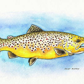 Clint Richey - Brown Trout