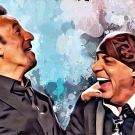 Scott Wallace - Bruce Springsteen and Steven Van Zandt