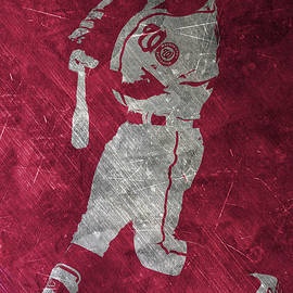 BRYCE HARPER WASHINGTON NATIONALS ART - Joe Hamilton