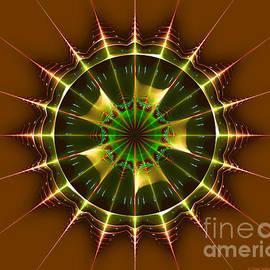 Jane Spaulding - Buck Rogers Style Mandala 2
