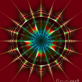 Jane Spaulding - Buck Rogers Style Mandala 3