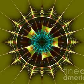 Jane Spaulding - Buck Rogers Style Mandala