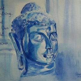 Vidya Vivek - Buddha in Blue