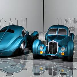 Andrei SKY - Bugatti Atlantic 1938