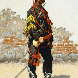 Bugler of the Cavalry - Frederic Remington
