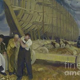George Wesley Bellows - Builders of Ships