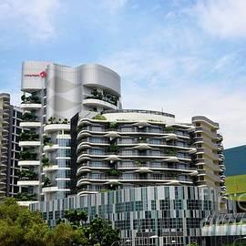 Imran Ahmed - Building of Ng Teng Fong General Hospital Jurong East Singapore