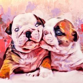 Scott Wallace - Bulldog Puppy Love