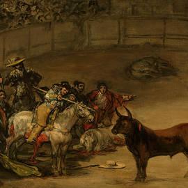 Bullfight, Suerte de Varas - Francisco Goya