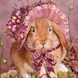 Carol Cavalaris - Bunny In Easter Bonnet