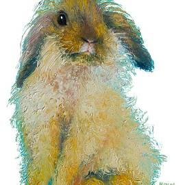 Jan Matson - Bunny Rabbit painting