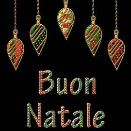 Movie Poster Prints - Buon Natale Italian Merry Christmas