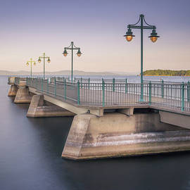 Alan Brown - Burlington Fishing Pier Sunrise part 2