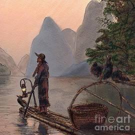 Randy Sprout - Burma Night Fisherman